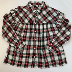 Children, Girls Size 12 Flannel Shirt in Kids.